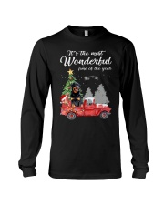 Wonderful Christmas with Truck - Rottweiler Long Sleeve Tee thumbnail