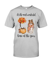 The Most Wonderful Time - Rough Collie Classic T-Shirt front