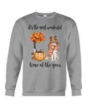 The Most Wonderful Time - Rough Collie Crewneck Sweatshirt thumbnail
