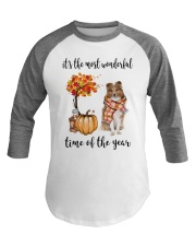 The Most Wonderful Time - Rough Collie Baseball Tee thumbnail