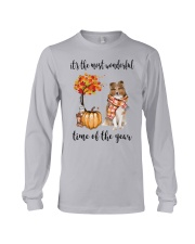 The Most Wonderful Time - Rough Collie Long Sleeve Tee thumbnail