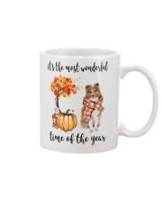 The Most Wonderful Time - Rough Collie Mug thumbnail