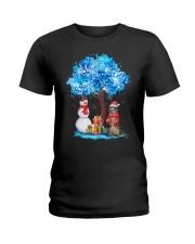 Snow Tree and Cat Ladies T-Shirt thumbnail