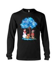 Snow Tree and Cat Long Sleeve Tee thumbnail