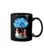 Snow Tree and Cat Mug thumbnail