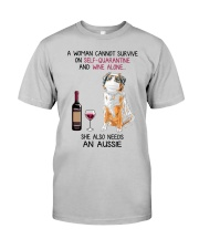 Cannot Survive Alone - Aussie  Classic T-Shirt front
