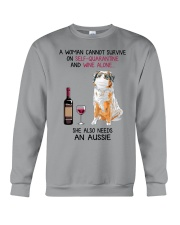 Cannot Survive Alone - Aussie  Crewneck Sweatshirt thumbnail