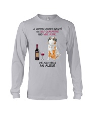Cannot Survive Alone - Aussie  Long Sleeve Tee thumbnail