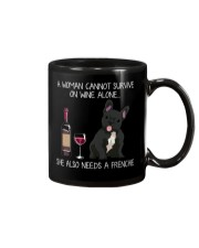 Wine and Frenchie 3 Mug thumbnail