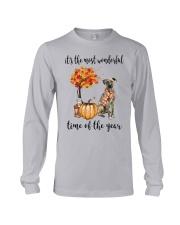 The Most Wonderful Time - Plott Hound Long Sleeve Tee thumbnail