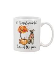 The Most Wonderful Time - Plott Hound Mug thumbnail
