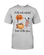 The Most Wonderful Time - Dalmatian Classic T-Shirt front