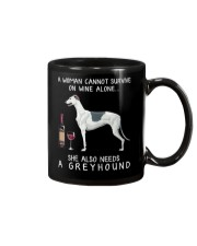 Wine and Greyhound Mug thumbnail