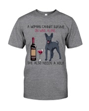 Wine and Xolo 2 Classic T-Shirt tile