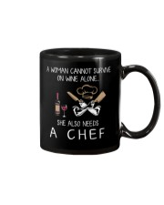 Wine and A Chef Mug thumbnail