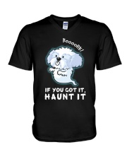 Shih Tzu - Boooork 2 V-Neck T-Shirt thumbnail