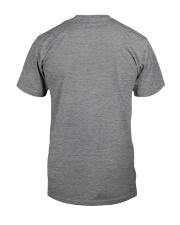 Dachshund Coffee and Naps Classic T-Shirt back