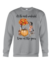The Most Wonderful Time - Bluetick Coonhound Crewneck Sweatshirt thumbnail