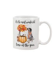 The Most Wonderful Time - Bluetick Coonhound Mug thumbnail