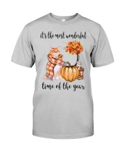 The Most Wonderful Time - Maine Coon Classic T-Shirt front