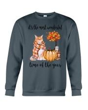 The Most Wonderful Time - Maine Coon Crewneck Sweatshirt thumbnail