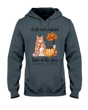 The Most Wonderful Time - Maine Coon Hooded Sweatshirt thumbnail