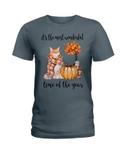 The Most Wonderful Time - Maine Coon Ladies T-Shirt thumbnail
