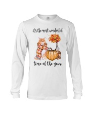 The Most Wonderful Time - Maine Coon Long Sleeve Tee thumbnail