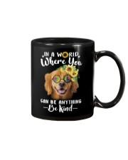 Golden Retriever Be Kind Mug thumbnail