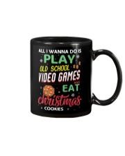 Old School Video Games and Christmas Cookies Mug thumbnail