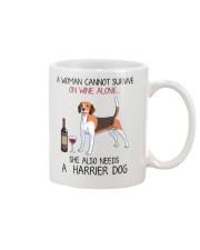 Wine and Harrier Dog 2 Mug thumbnail