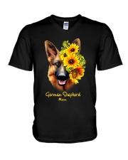 German Shepherd Mom V-Neck T-Shirt thumbnail