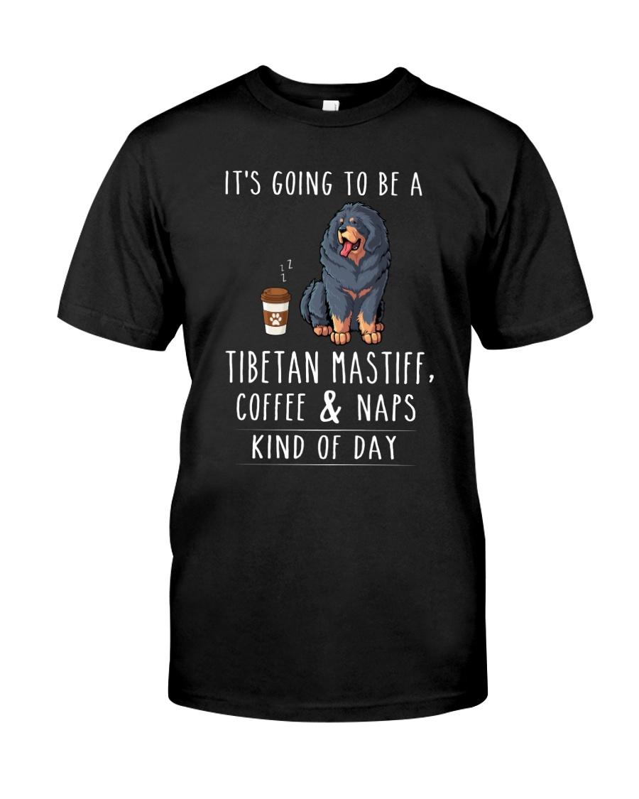 Tibetan Mastiff Coffee and Naps Classic T-Shirt