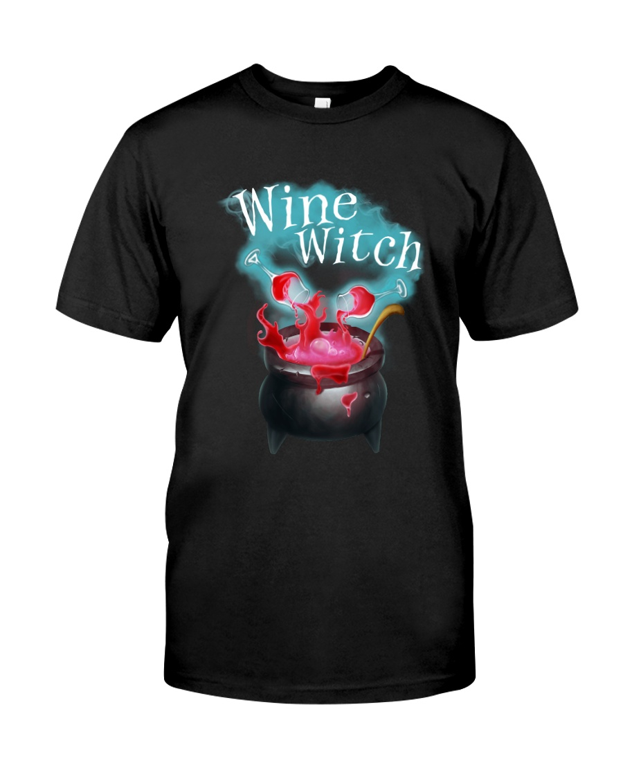 Wine Witch Classic T-Shirt