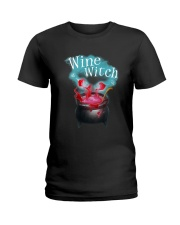 Wine Witch Ladies T-Shirt thumbnail