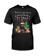 A Few of My Favorite Things - Dachshund Classic T-Shirt front