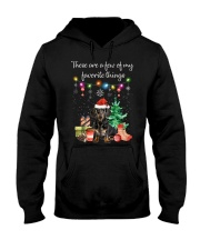 A Few of My Favorite Things - Dachshund Hooded Sweatshirt thumbnail