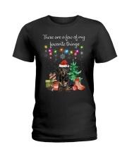 A Few of My Favorite Things - Dachshund Ladies T-Shirt thumbnail