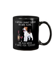 Wine and Wire Fox Terrier Mug thumbnail