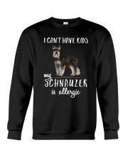 My Schnauzer is Allergic Crewneck Sweatshirt thumbnail