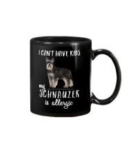 My Schnauzer is Allergic Mug thumbnail