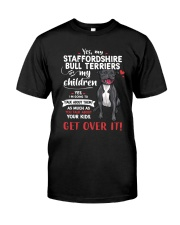 My Staffordshire Bull Terriers - My Children Classic T-Shirt front