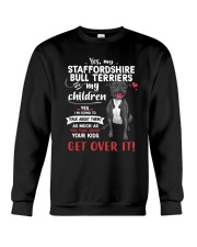 My Staffordshire Bull Terriers - My Children Crewneck Sweatshirt tile