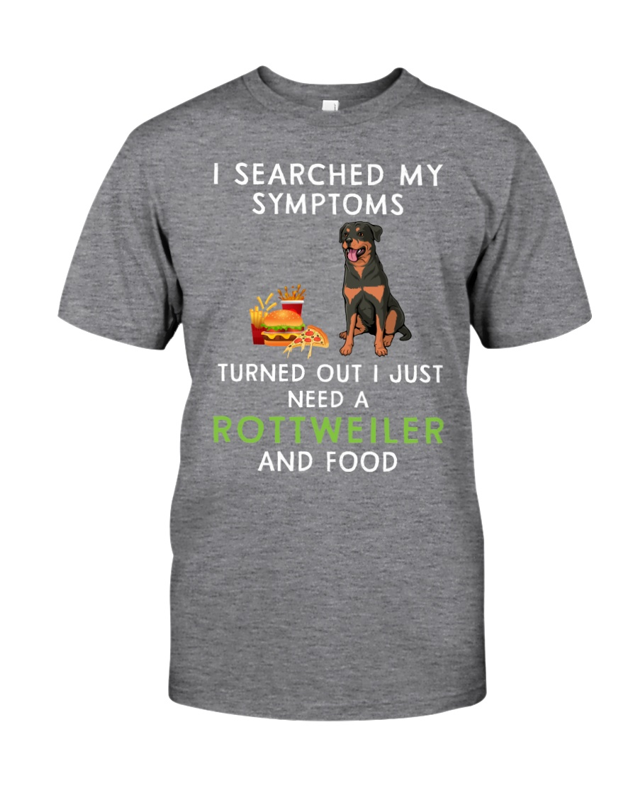 Rottweiler and Food Classic T-Shirt