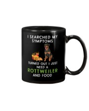 Rottweiler and Food Mug thumbnail