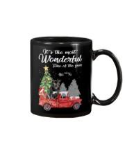 Wonderful Christmas with Truck - Staffie Mug thumbnail