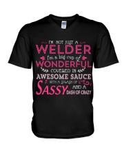I'm not just a Welder V-Neck T-Shirt thumbnail