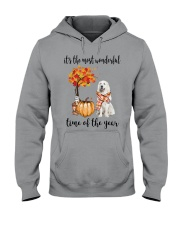 The Most Wonderful Time - Great Pyrenees Hooded Sweatshirt thumbnail