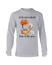 The Most Wonderful Time - Great Pyrenees Long Sleeve Tee thumbnail