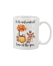 The Most Wonderful Time - American Eskimo Dog Mug tile